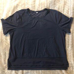 Lululemon Navy running t-shirt size 10